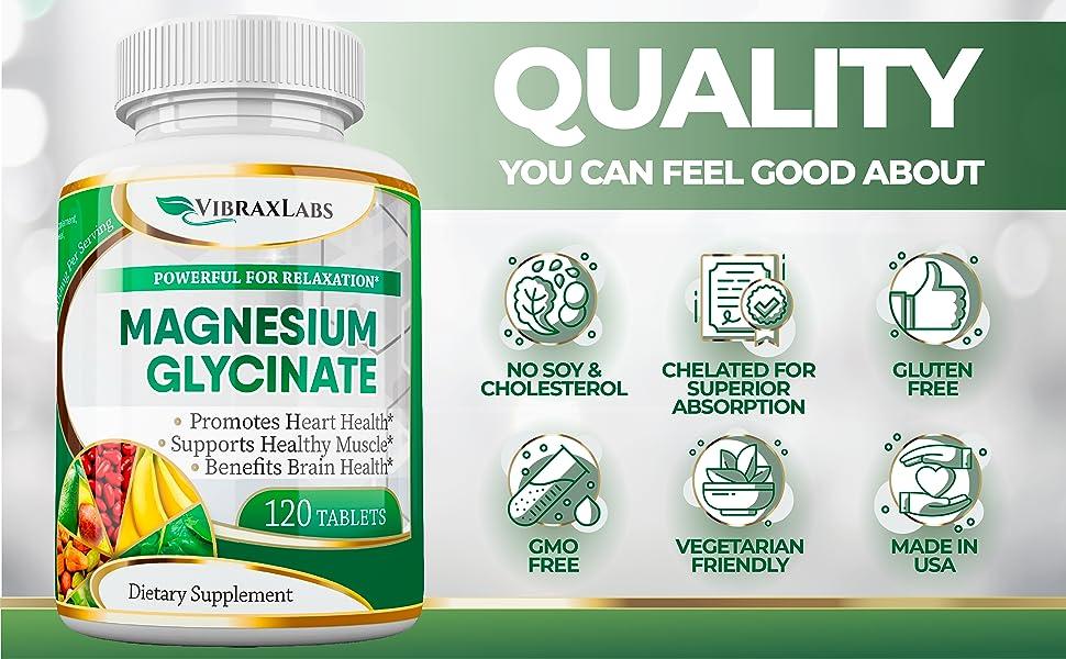 VibraxLabs Magnesium Glycinate
