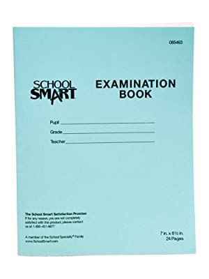 Blue Examination Book