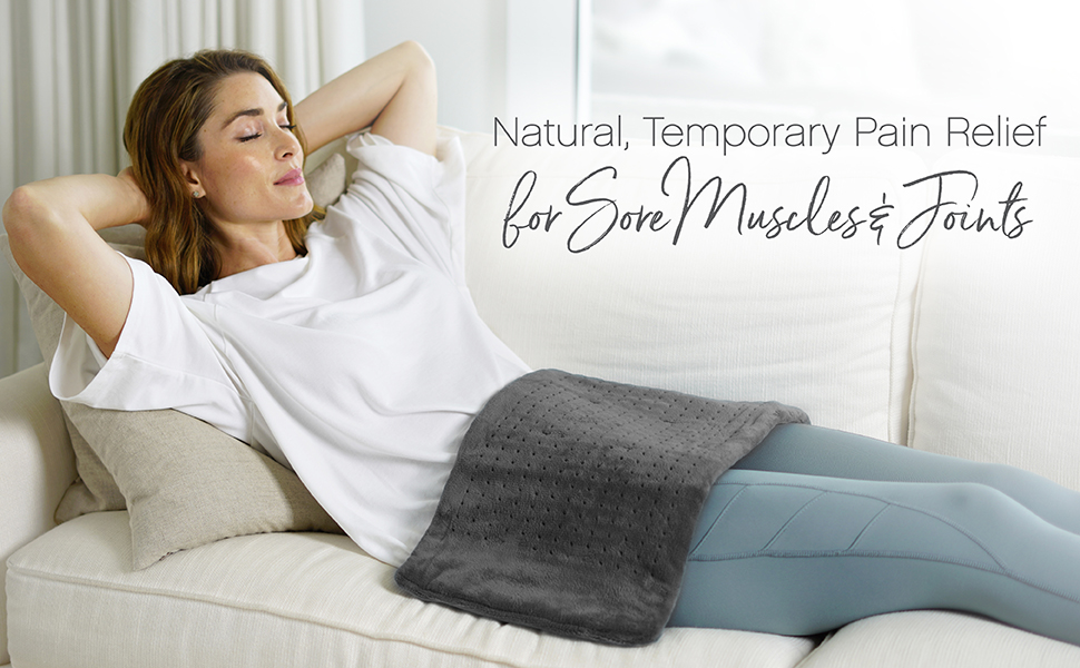 Natural, Temporary Pain Relief for Sore Muscles & Joints