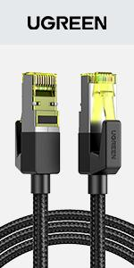 Cat 7 Câble Ethernet Réseau Tressé