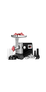 3 in 1 high-power small household electric meat grinder
