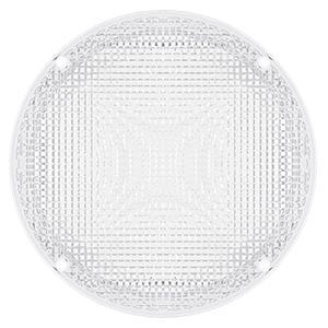 Leisure LED RV Trailer Camper Exterior 8.5amp;#34; Black Round Scare Porch Light 600 Lumen Extra Bright