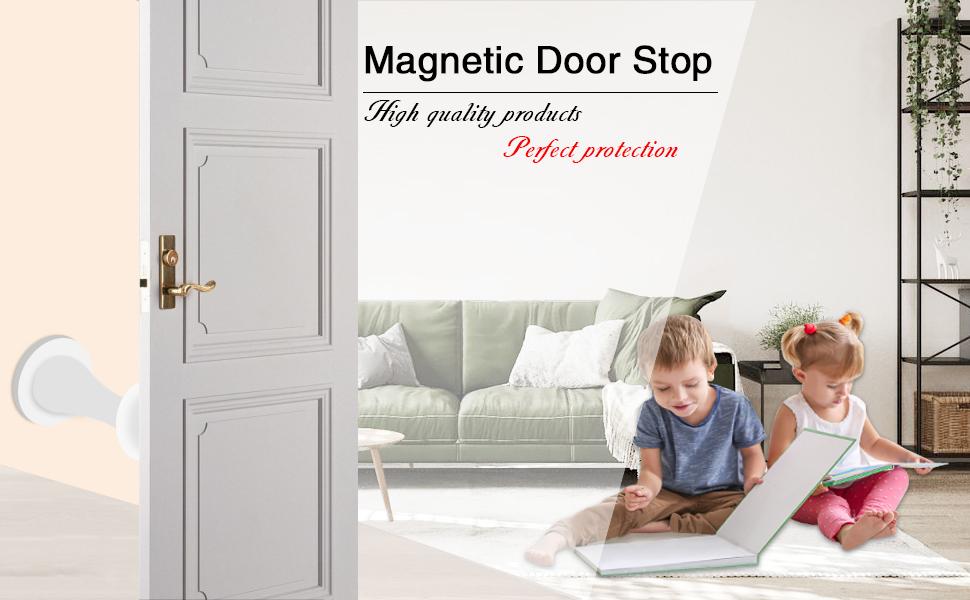 Magnetic Door Stopper Self Adhesive