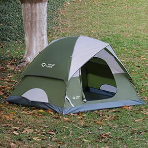 Lightweight camping tent