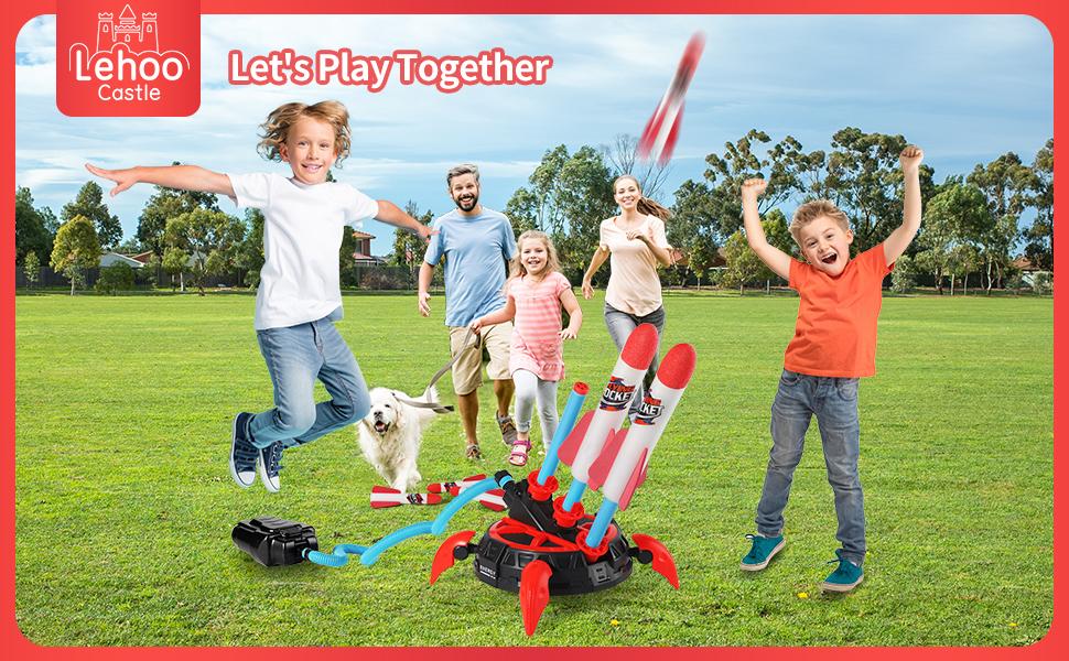 Lehoo Castle Air Rocket Toy
