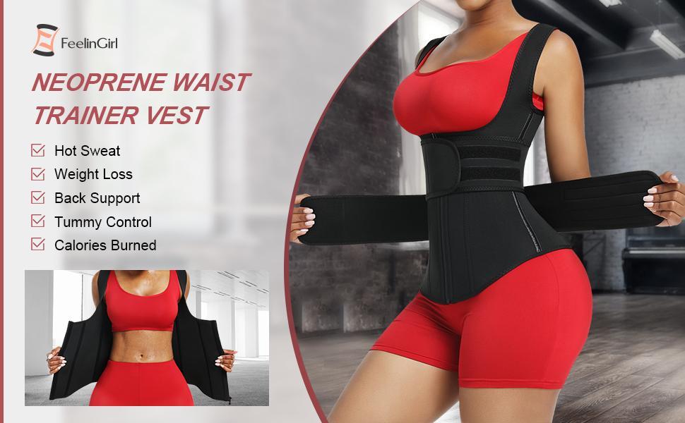 neoprene waist trainer vest for women