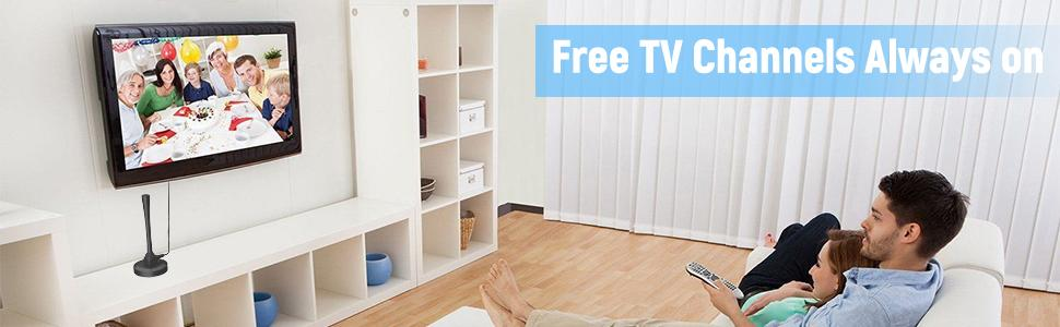 Free TV Channels Always on