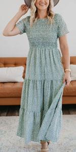 boho dress women