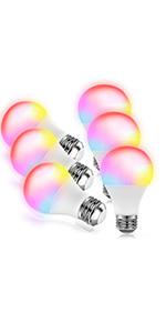 6 pack smart bulb