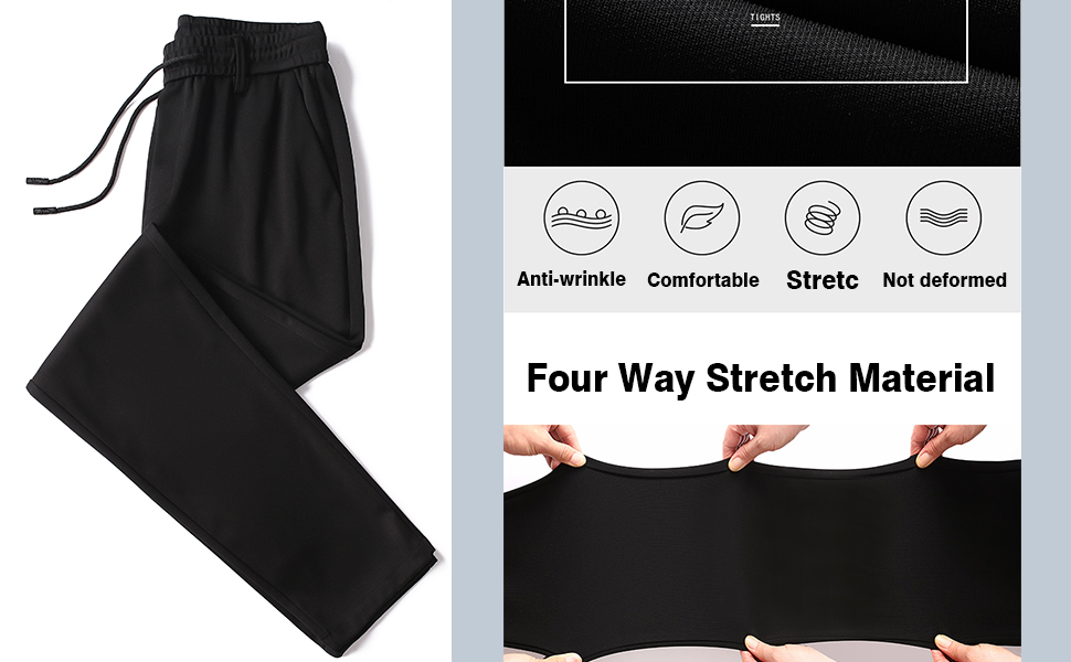 men's spring summer Stretchy Quick Dry Trousers