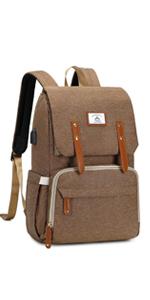BROWN DIAPER BAG2