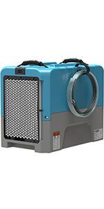 commercial dehumidifier in blue