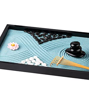 Traditional Japanese Miniature Office Set Mini Gift for Home Zen Decoration for Home Office Decor