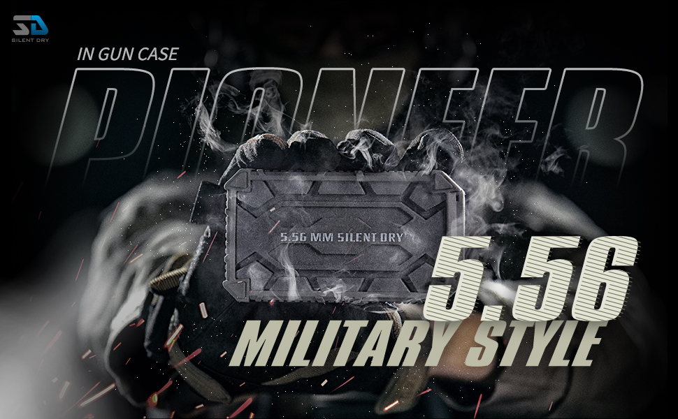 SD SILENT DRY Gun Safe Dehumidifier  PIONEER