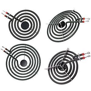 Electric Range Burner Element Unit Set