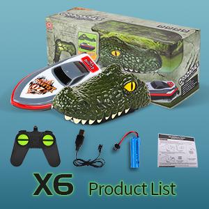 2-in-1 Remote Control Alligator Head