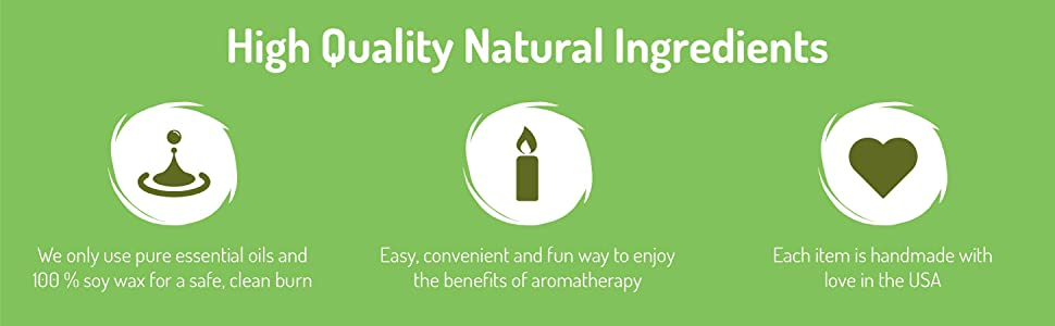 High Quality Natural Ingredients