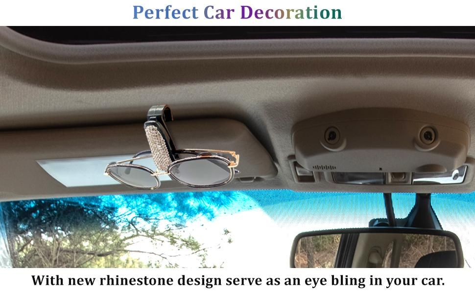 Perfect Car Decoration With new rhinestone design serve as an eye bling in your car.
