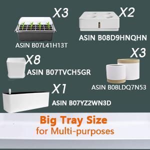 Big tray size for muli purposes