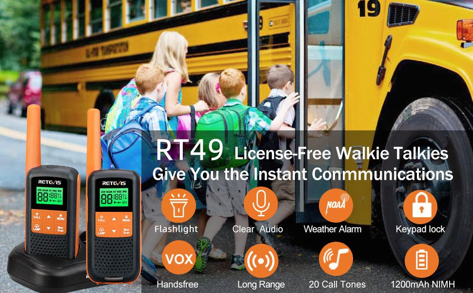 RT49 walkie talkie for adults