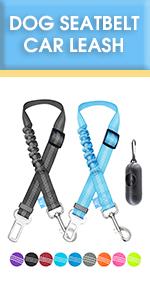 dog seatbelt car leash