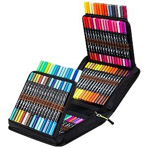 100 couleurs noires.