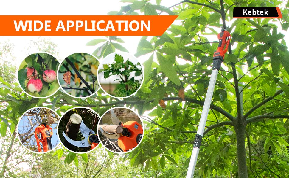 Kebtek Extension Pole for 40mm Electric Pruning Shear