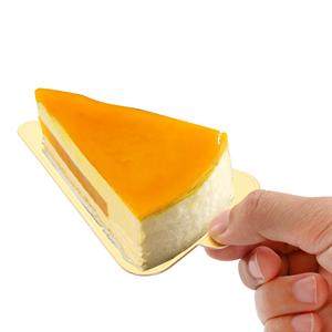 """Dicunoy 300PCS Mini Cake Boards, 3"""" Gold Circle Paper Cupcake Dessert Displays Base Tray"""