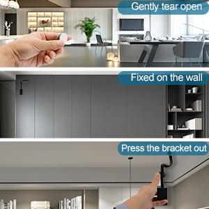 Foldable wireless wifi Small Camera wall bracket / Easy to use