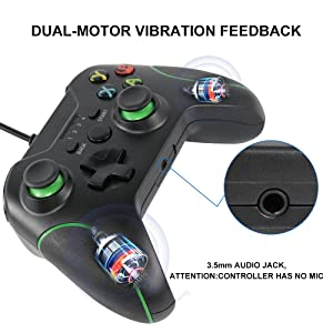 USB Wired Game Controller for Xbox One/Slim Gamepad