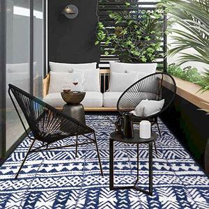 balcony rug
