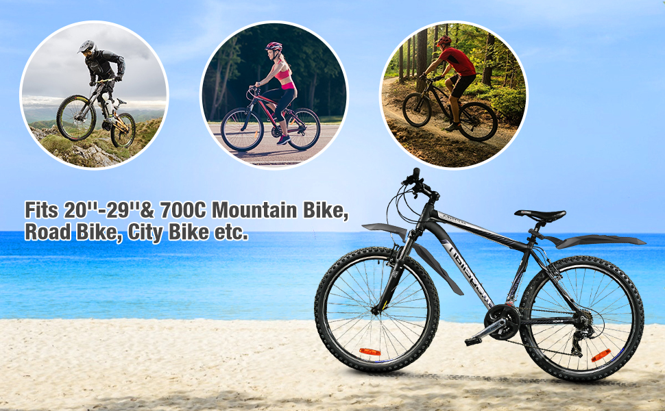 700c bike fender