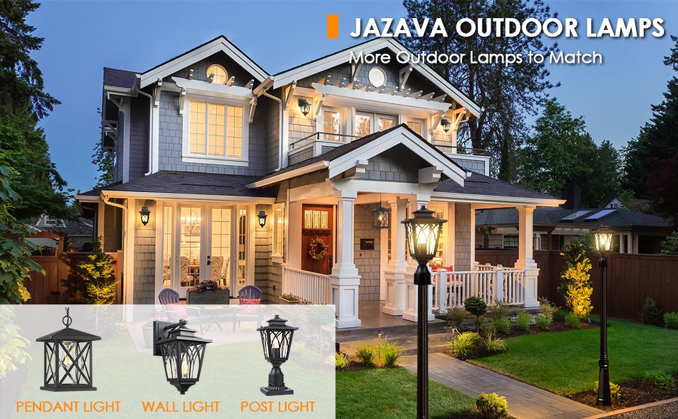 outdoor light set