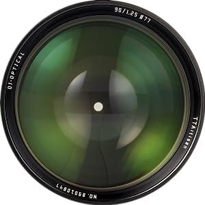 90mm f1.25-3