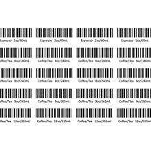 My-Cap Reusable Disc for Tassimo Brewers - Barcodes