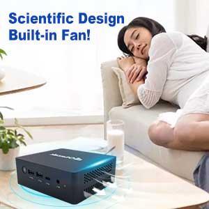 iPC45 Mini PC Built-in Fan
