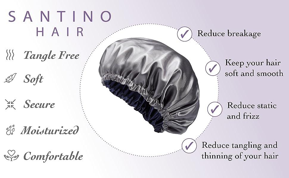 Luxury Satin Bonnet Features