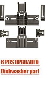 6 PCS UPGRADED Dishwasher part
