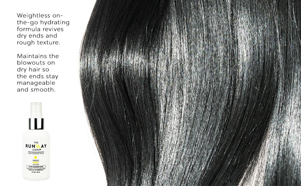 The Runway Looks Paris Gloss Silkening hair care
