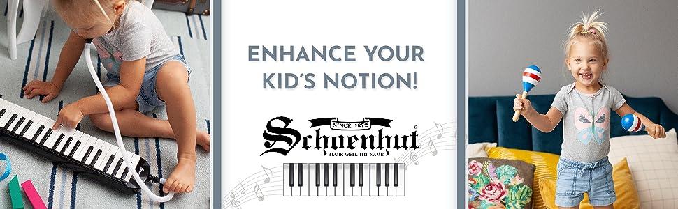 Enhance your kid's notion! Schoenhut