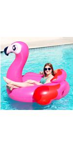 Flamingo Tube Pool Raft