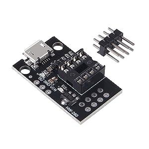 Pluggable Development Board for ATtiny13A/ATtiny25/ATtiny45/ATtiny85 Programming Editor Micro
