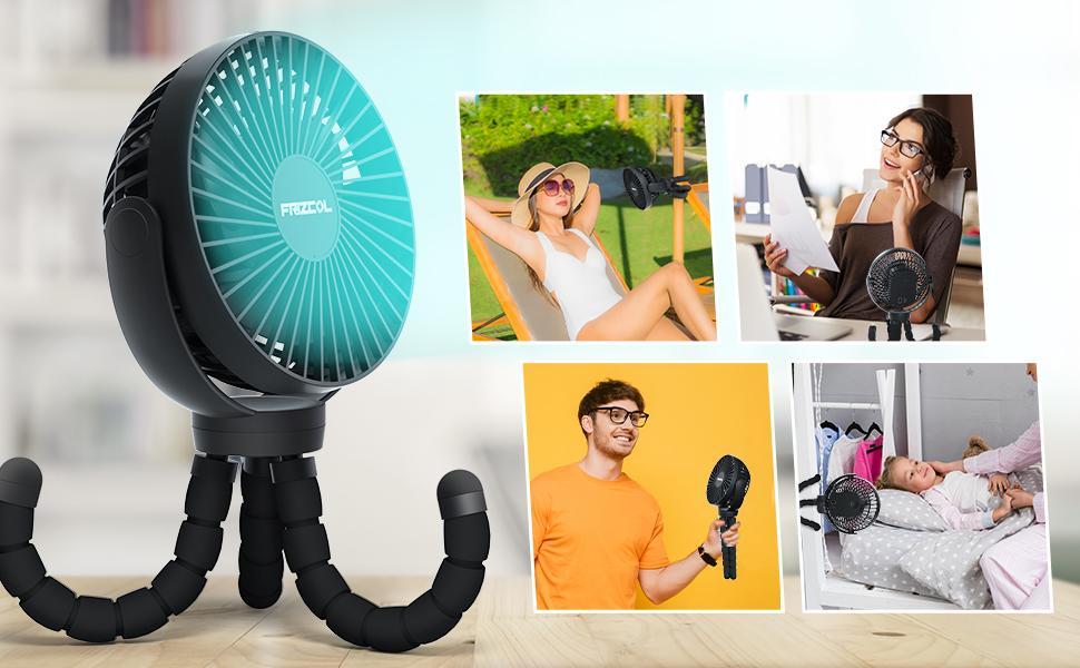 handheld fan desk fan small fan hanging around fan office bedroom fan