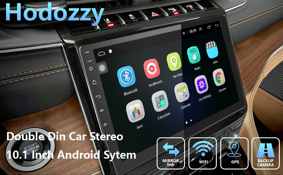10.1 INCH double din car stereo