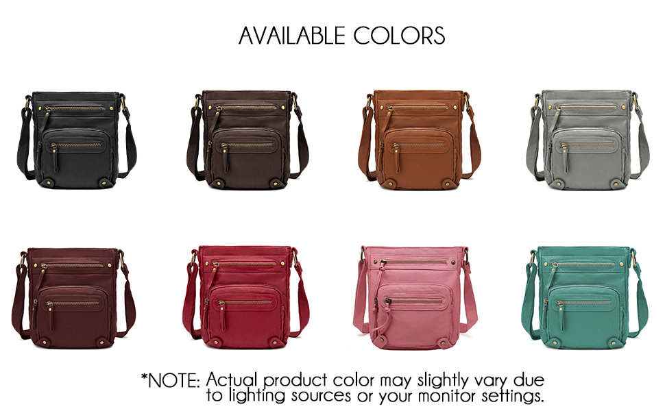 available in dark brown, black, brown, grey and mint