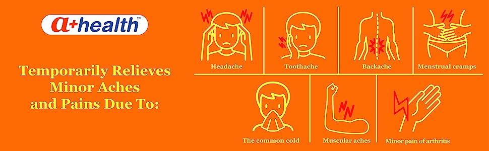 headache toothache backache muscular aches