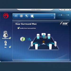 7.1 channel surround sound adjustable APP software