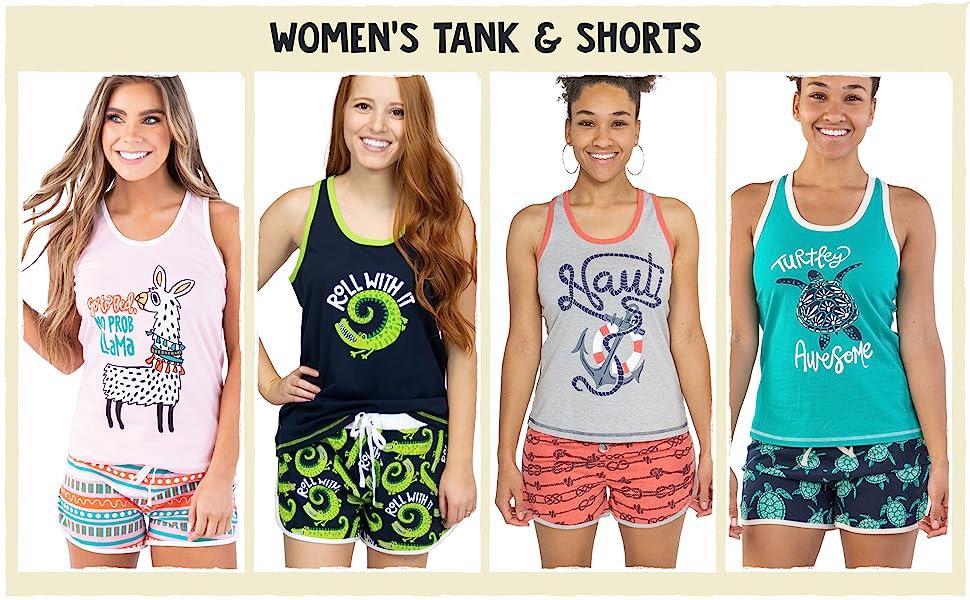 Women's Tank amp; Shorts
