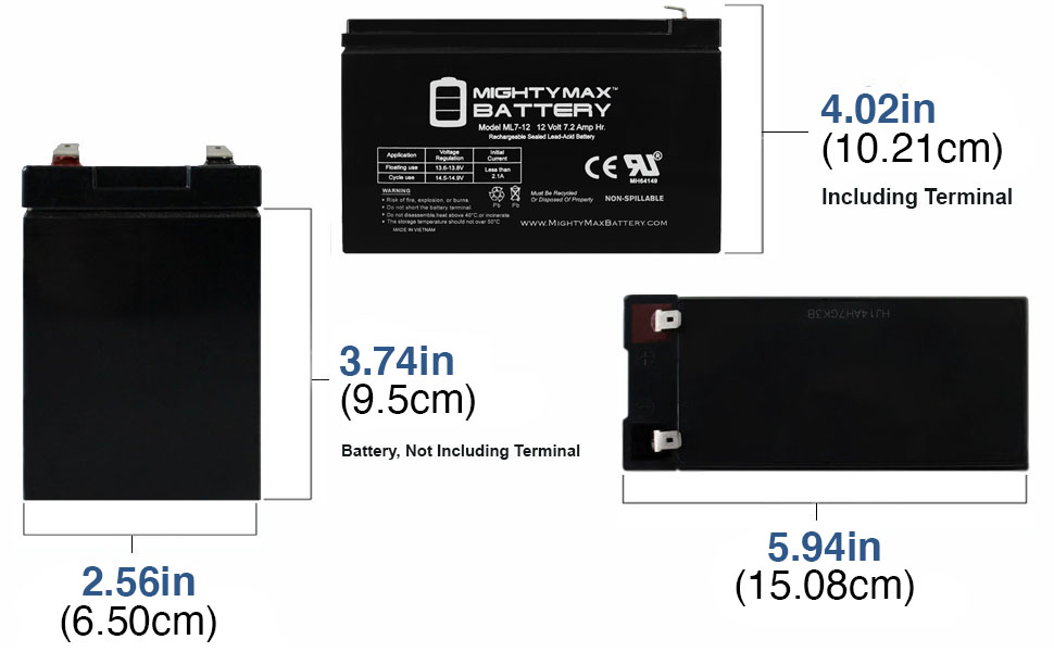 replacement SLA Battery for razor powerrider 360 electric tricycle rechargable battery