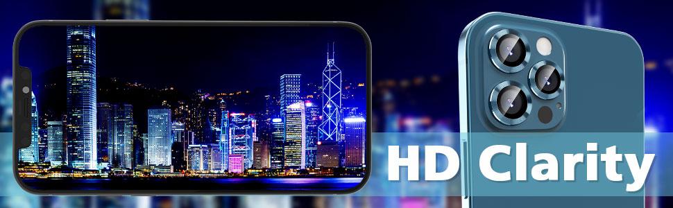 HD clarity camera cover